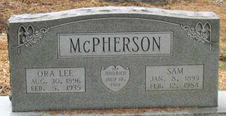 MCPHERSON, ORA LEE - Saline County, Arkansas | ORA LEE MCPHERSON - Arkansas Gravestone Photos
