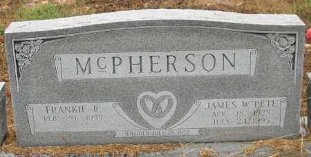 "MCPHERSON (VETERAN WWII), JAMES W. ""PETE"" - Saline County, Arkansas 
