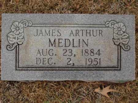 MEDLIN, JAMES ARTHUR - Saline County, Arkansas | JAMES ARTHUR MEDLIN - Arkansas Gravestone Photos