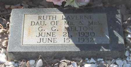 MELTON, RUTH LAVERNE - Saline County, Arkansas | RUTH LAVERNE MELTON - Arkansas Gravestone Photos