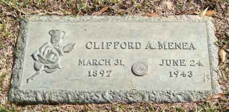 MENEA, CLIFFORD A. - Saline County, Arkansas | CLIFFORD A. MENEA - Arkansas Gravestone Photos