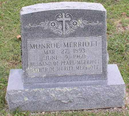 MERRIOTT, MONROE - Saline County, Arkansas | MONROE MERRIOTT - Arkansas Gravestone Photos