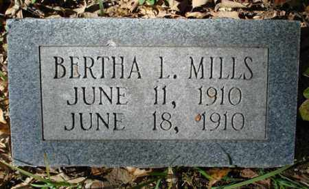 MILLS, BERTHA L. - Saline County, Arkansas | BERTHA L. MILLS - Arkansas Gravestone Photos