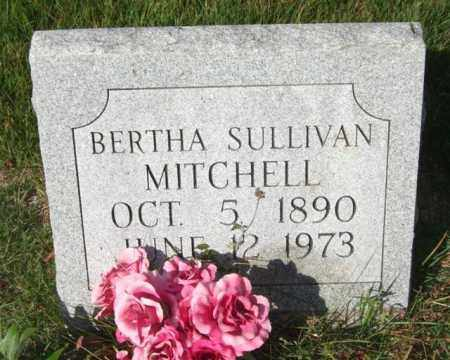 SULLIVAN MITCHELL, BERTHA - Saline County, Arkansas | BERTHA SULLIVAN MITCHELL - Arkansas Gravestone Photos
