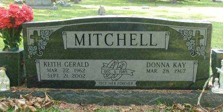 MITCHELL, KEITH GERALD - Saline County, Arkansas | KEITH GERALD MITCHELL - Arkansas Gravestone Photos