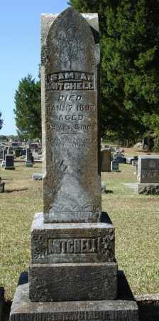 MITCHELL, SAMUEL AUGUSTUS - Saline County, Arkansas | SAMUEL AUGUSTUS MITCHELL - Arkansas Gravestone Photos