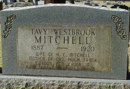 WESTBROOK MITCHELL, TAVY - Saline County, Arkansas | TAVY WESTBROOK MITCHELL - Arkansas Gravestone Photos