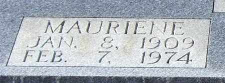 MIZE, MAURIENE (CLOSEUP) - Saline County, Arkansas | MAURIENE (CLOSEUP) MIZE - Arkansas Gravestone Photos