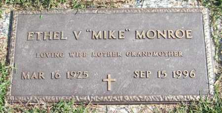 "MONROE, ETHEL V. ""MIKE"" - Saline County, Arkansas 