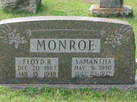 MONROE, FLOYD - Saline County, Arkansas | FLOYD MONROE - Arkansas Gravestone Photos