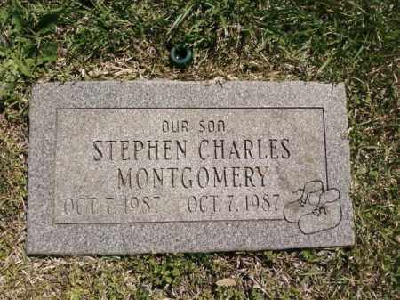 MONTGOMERY, STEPHEN CHARLES - Saline County, Arkansas | STEPHEN CHARLES MONTGOMERY - Arkansas Gravestone Photos