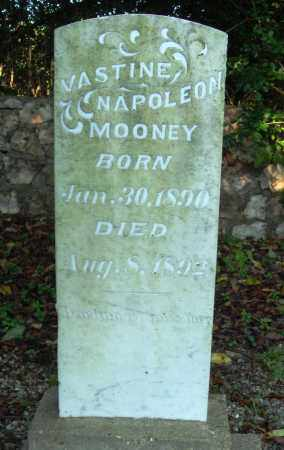 MOONEY, VASTINE NAPOLEON - Saline County, Arkansas | VASTINE NAPOLEON MOONEY - Arkansas Gravestone Photos