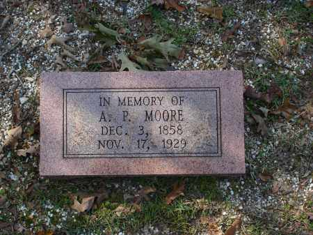 MOORE, A. P. - Saline County, Arkansas | A. P. MOORE - Arkansas Gravestone Photos