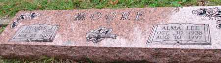 MOORE, ALMA LEE - Saline County, Arkansas | ALMA LEE MOORE - Arkansas Gravestone Photos