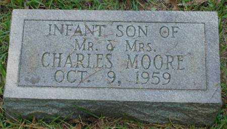 MOORE, INFANT SON - Saline County, Arkansas | INFANT SON MOORE - Arkansas Gravestone Photos