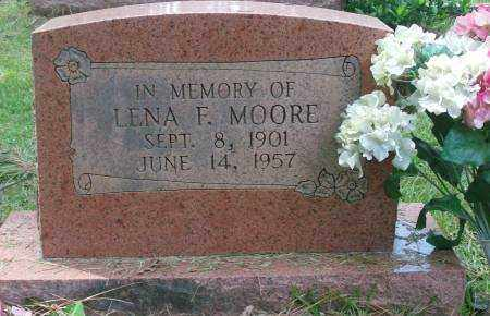 MOORE, LENA F. - Saline County, Arkansas | LENA F. MOORE - Arkansas Gravestone Photos