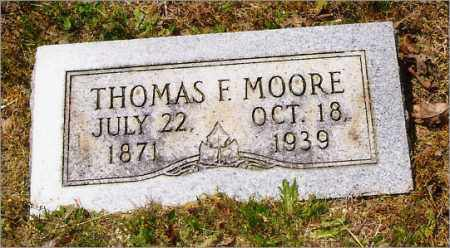 MOORE, THOMAS - Saline County, Arkansas | THOMAS MOORE - Arkansas Gravestone Photos