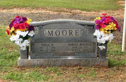 MITCHELL MOORE, NORENE - Saline County, Arkansas | NORENE MITCHELL MOORE - Arkansas Gravestone Photos