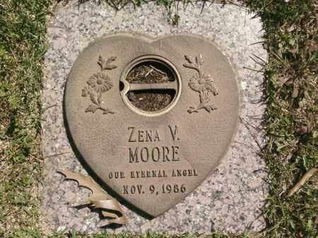 MOORE, ZENA V. - Saline County, Arkansas | ZENA V. MOORE - Arkansas Gravestone Photos