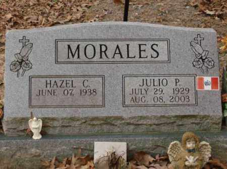 MORALES, JULIO P - Saline County, Arkansas | JULIO P MORALES - Arkansas Gravestone Photos