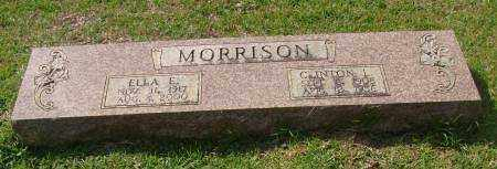 MORRISON, CLINTON L. - Saline County, Arkansas | CLINTON L. MORRISON - Arkansas Gravestone Photos