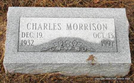 MORRISON, CHARLES - Saline County, Arkansas | CHARLES MORRISON - Arkansas Gravestone Photos