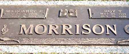 MORRISON, MARGARET E. - Saline County, Arkansas | MARGARET E. MORRISON - Arkansas Gravestone Photos