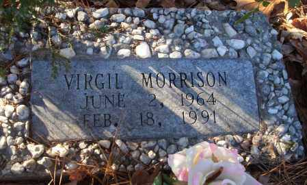 MORRISON, VIRGIL - Saline County, Arkansas | VIRGIL MORRISON - Arkansas Gravestone Photos