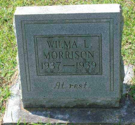 MORRISON, WILMA L - Saline County, Arkansas | WILMA L MORRISON - Arkansas Gravestone Photos