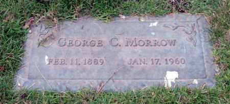 MORROW, GEORGE C. - Saline County, Arkansas | GEORGE C. MORROW - Arkansas Gravestone Photos