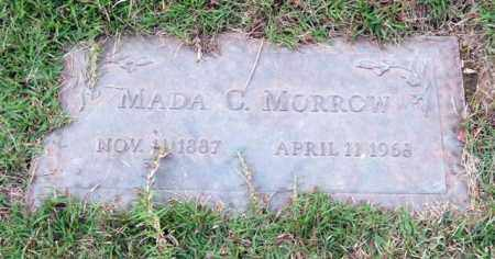 MORROW, MADA C. - Saline County, Arkansas | MADA C. MORROW - Arkansas Gravestone Photos
