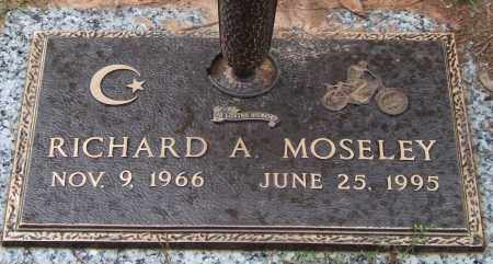 MOSELEY, RICHARD A. - Saline County, Arkansas | RICHARD A. MOSELEY - Arkansas Gravestone Photos