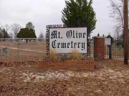 * MOUNT OLIVE CEMETERY, SIGN - Saline County, Arkansas | SIGN * MOUNT OLIVE CEMETERY - Arkansas Gravestone Photos