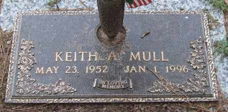 MULL, KEITH A. - Saline County, Arkansas | KEITH A. MULL - Arkansas Gravestone Photos