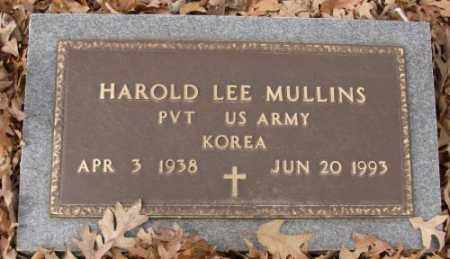 MULLINS (VETERAN KOR), HAROLD LEE - Saline County, Arkansas | HAROLD LEE MULLINS (VETERAN KOR) - Arkansas Gravestone Photos
