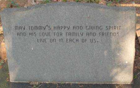 MURRAY, II (BACK VIEW), THOMAS W. - Saline County, Arkansas   THOMAS W. MURRAY, II (BACK VIEW) - Arkansas Gravestone Photos