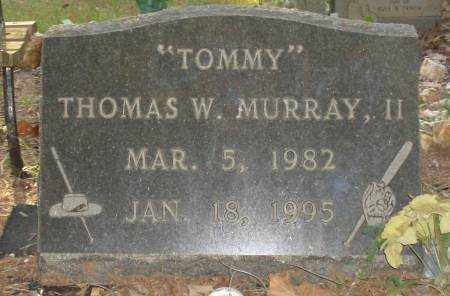 MURRAY,II, THOMAS W - Saline County, Arkansas | THOMAS W MURRAY,II - Arkansas Gravestone Photos