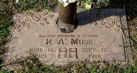 MUSE, R. A. - Saline County, Arkansas | R. A. MUSE - Arkansas Gravestone Photos