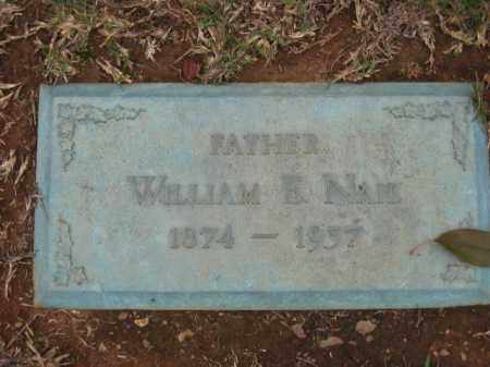 NAIL, WILLIAM ELLSWORTH - Saline County, Arkansas | WILLIAM ELLSWORTH NAIL - Arkansas Gravestone Photos