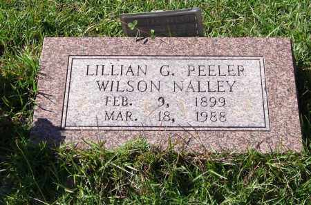 PEELER NALLEY, LILLIAN GERTRUDE - Saline County, Arkansas | LILLIAN GERTRUDE PEELER NALLEY - Arkansas Gravestone Photos