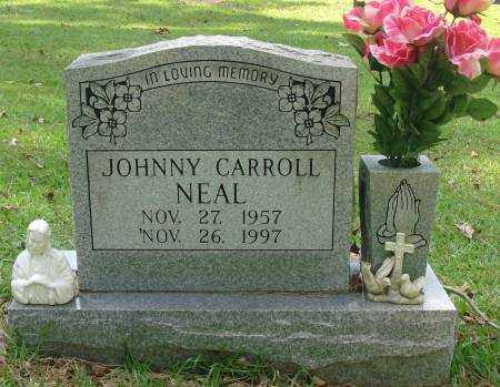 NEAL, JOHNNY CARROLL - Saline County, Arkansas | JOHNNY CARROLL NEAL - Arkansas Gravestone Photos