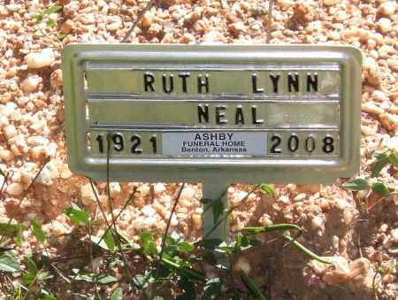 GILES NEAL, RUTH LYNN - Saline County, Arkansas | RUTH LYNN GILES NEAL - Arkansas Gravestone Photos