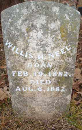 NEELY, WILLIS H - Saline County, Arkansas | WILLIS H NEELY - Arkansas Gravestone Photos