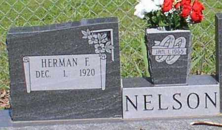 NELSON, HERMAN FORREST - Saline County, Arkansas | HERMAN FORREST NELSON - Arkansas Gravestone Photos