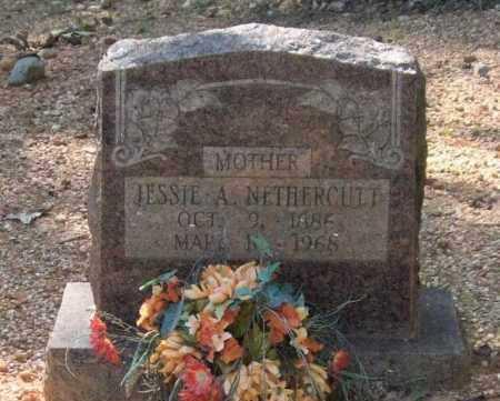 HUCHINGSON NETHERCUTT, JESSIE A. - Saline County, Arkansas | JESSIE A. HUCHINGSON NETHERCUTT - Arkansas Gravestone Photos