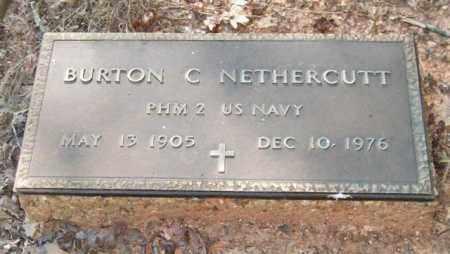 NETHERCUTT (VETERAN), BURTON C - Saline County, Arkansas | BURTON C NETHERCUTT (VETERAN) - Arkansas Gravestone Photos