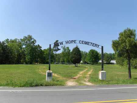 * NEW HOPE CEMETERY, ENTRANCE - Saline County, Arkansas | ENTRANCE * NEW HOPE CEMETERY - Arkansas Gravestone Photos