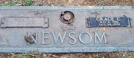 NEWSOM, GRACE C. - Saline County, Arkansas | GRACE C. NEWSOM - Arkansas Gravestone Photos