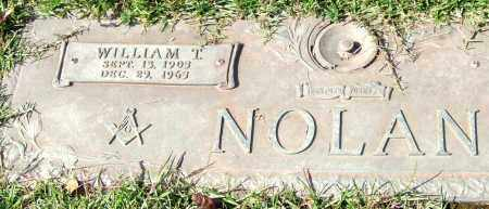 NOLAN, WILLIAM T. - Saline County, Arkansas | WILLIAM T. NOLAN - Arkansas Gravestone Photos