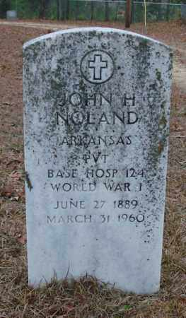 NOLAND (VETERAN WWI), JOHN H - Saline County, Arkansas | JOHN H NOLAND (VETERAN WWI) - Arkansas Gravestone Photos